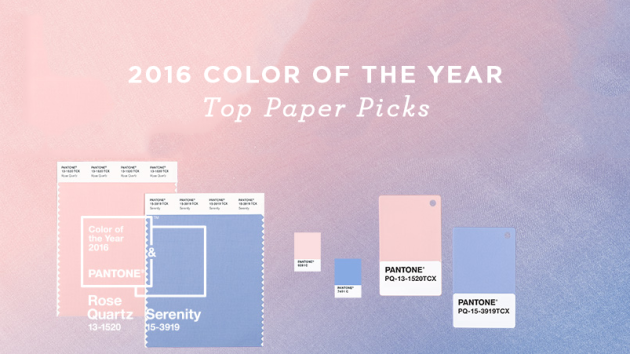 2016 Color of the Year - Top Paper Picks | Parse & Parcel