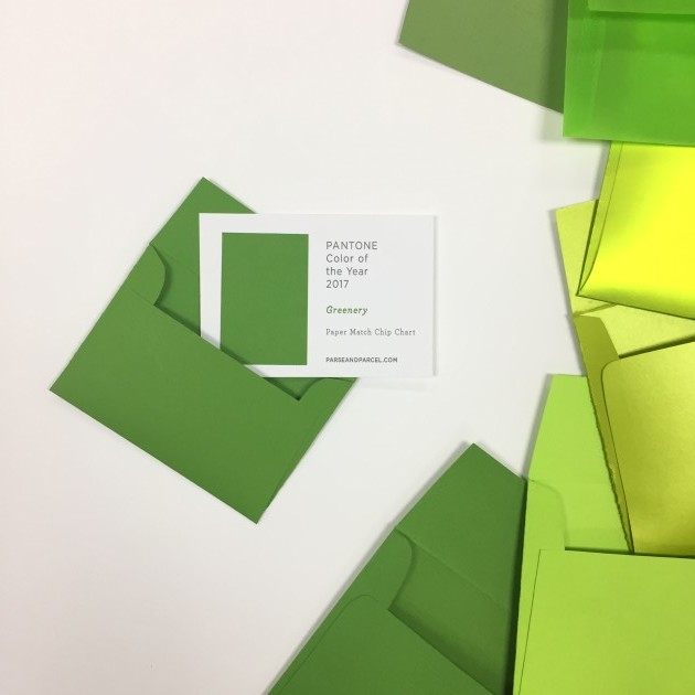 Papers-match-Pantone-color-year-parse-parcel