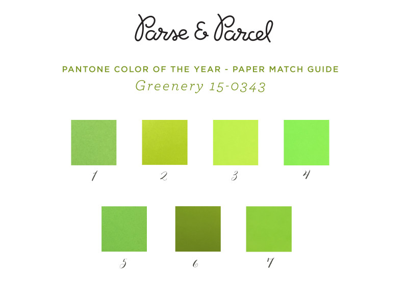 PAPERS-MATCH-PANTONE-COLOR-YEAR-GREENERY-PARSE-PARCEL